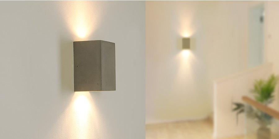 Die Betonleuchte Cube - vielseitig einsetzbar