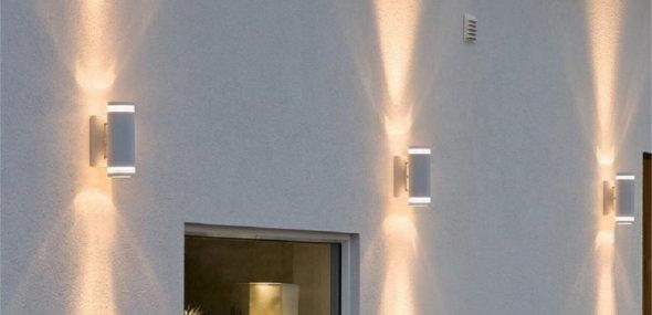 Außenwandleuchten für eine schöne Fassadenbeleuchtung