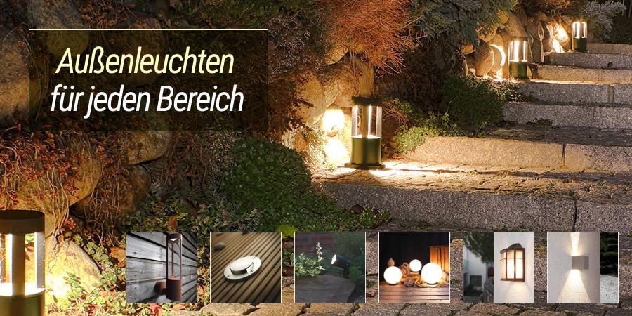 Außenleuchten - Lampen für jeden Bereich
