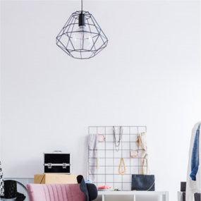 Schwarze Trendlampe