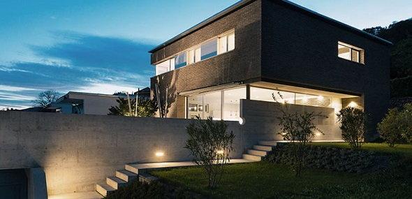 LED Außenbeleuchtung Haus