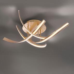 Zuverlässig beleuchten sparsame LED-Deckenleuchten
