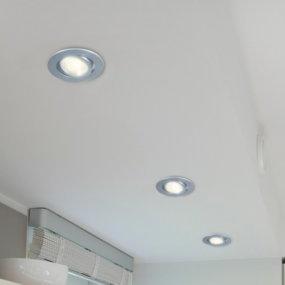 Punktuell und enegieeffizient strahlen LED-Einbauleuchten