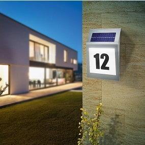 LED-Hausnummernleuchten- mit ihnen gehen Sie auf Nummer Sicher