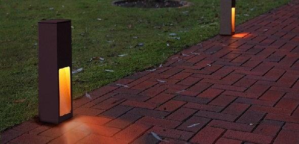 LED-Wegeleuchten geben Sicherheit auf Schritt und Tritt