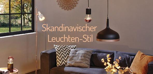 Skandinavischer Leuchtenstil