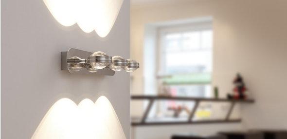Up & Down Wandleuchten sorgen für ein gelungenes Lichtkonzept