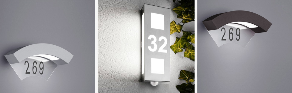 Hausnummernleuchten