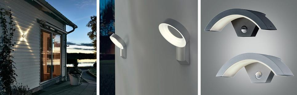 LED Außenwandleuchten