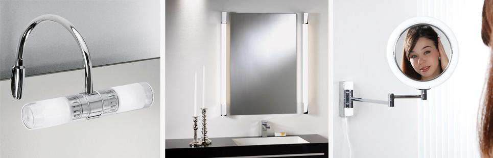 badezimmer spiegelleuchte und spiegellampen online kaufen. Black Bedroom Furniture Sets. Home Design Ideas