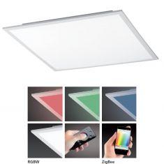 LED-Board weiß 45 x 45cm - inklusive Fernbedienung