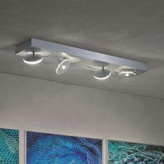 LED-Deckenstrahler Spot it, 4-flammig, rechteckig, verstellbar