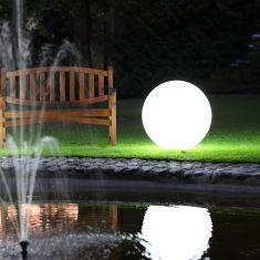 Kugelleuchte aus Polyethylen - bruch-beständig - Ø 55cm