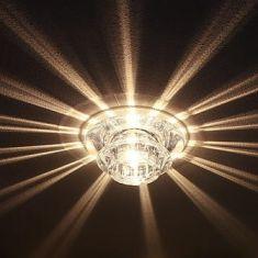 Einbauleuchte mit tollem Lichteffekt, inklusive Leuchtmittel