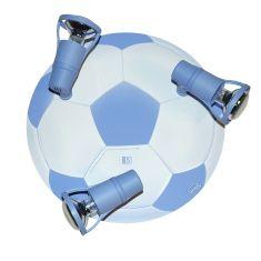 Fussball Deckenlampe mit verstellbaren Strahlern