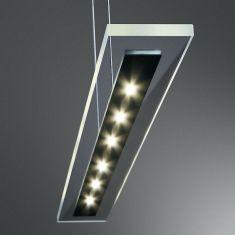 LED Glaspendellampe mit LED-Technik - in 2 Oberflächen