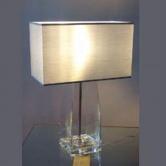 Funktionaler Dekoartikel - Hochwertige Glasleuchte Befüllbarer Leuchtenfuß