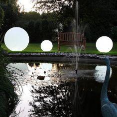 Kugelleuchte aus Polyethylen - bruch-beständig - Ø 28cm