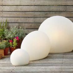 Bodenleuchte EGGO Outdoor in Weiß