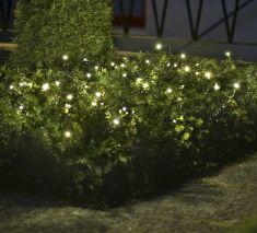 LED Lichternetz, 32 Dioden in warm weiß, 100cm x 100cm
