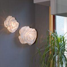 Designer Wandleuchte Nevo in Weiß - in 2 Größen wählbar