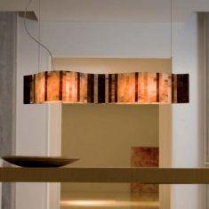LED-Pendelleuchte Vento - Länge 95cm - inklusive LED 22,8 W