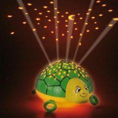 LED-Nachtlicht Sternenhimmel - Motiv Schildkröte - mit Schlafliedfunktion