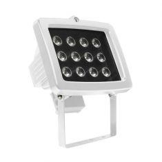 LED-Strahler mit 12 Power LEDs in Schwarz oder Weiß, 15Watt