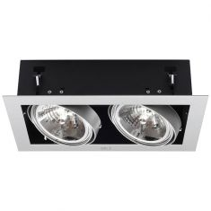 Decken-Einbau-Downlight Mateo 2-flammig