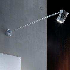 LED Display Wandleuchte lang, Strahler für Werbeflächen, für Innen und Außen