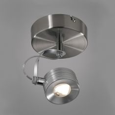 LED-Strahler in Eisen-gebürstet 5W LED