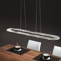 Dimmbare LED-Pendelleuchte Länge 116cm, 36Watt LED