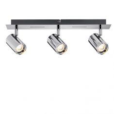 LED-Strahler Rondo Chrom inkl.  3x 4W GU10 LED