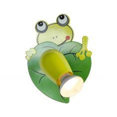 Niedliche Froschleuchte für Ihr Kinderzimmer - Wandmontage - 1-flammig