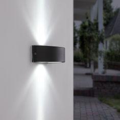 LED-Außenwandleuchte - Anthrazit - Inklusive LED-Modul 4,8 Watt 200 Lumen 6500 Kelvin