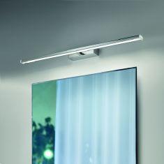 Moderne Spiegel- oder Bilderleuchte - inklusive LED-Platine 18 Watt - in Chrom silber, Chrom