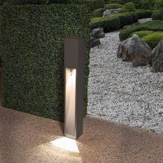 Mit einseitigem Lichtaustritt Gartenleuchte  Höhe 75 cm
