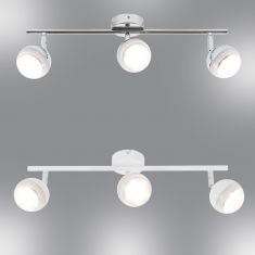LED-Strahlerserie - Chrom oder Weiß