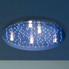 led deckenleuchte als sternenhimmel mit infrarotfernbedienung wohnlicht. Black Bedroom Furniture Sets. Home Design Ideas