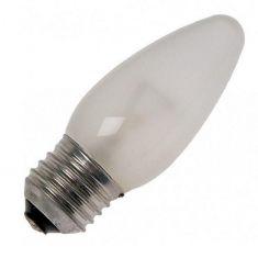 Glühkerze Leuchtmittel C35 Kerzen, 60 Watt matt, E27 1x 60 Watt, 60 Watt, 520,0 Lumen