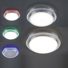 LED-Deckenleuchte mit RGB-Farbwechsel, 2 Größen