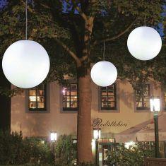 Pendelleuchte Snowball für den Außenbereich in 30-, 40- und 50cm mit 5m Zuleitung
