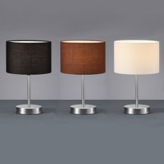 tischleuchten und tischlampen online kaufen wohnlicht. Black Bedroom Furniture Sets. Home Design Ideas