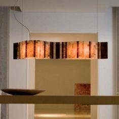 Arturo Alvarez LED-Pendelleuchte Vento - Länge 95cm