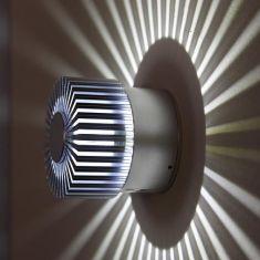 LED Wand- und Deckenleuchte für den Innen- und Außenbereich mit weißer LED, 3 Watt