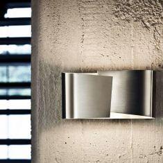 Moderne LED-Wandleuchte aus Edelstahl mit toller Lichtwirkung
