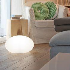 Ovale Dekoleuchte Outdoor & Indoor