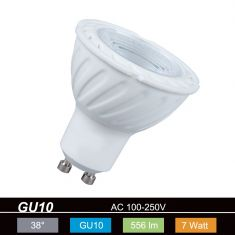 QPAR51 LED  GU10 7W  warmweiß 2700K 230V 556lm 1100cd 38° nicht dimmbar