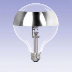 G95, Globe, Ringspiegel-silber, E27, 42 Watt entspricht 60 Watt 1x 42 Watt, 42 Watt, 60,00 Watt, 510,0 Lumen