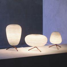 Tischleuchte Rituals  von Foscarini - Glas - 3 unterschiedliche Formen